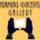 Framing Concepts Gallery website development